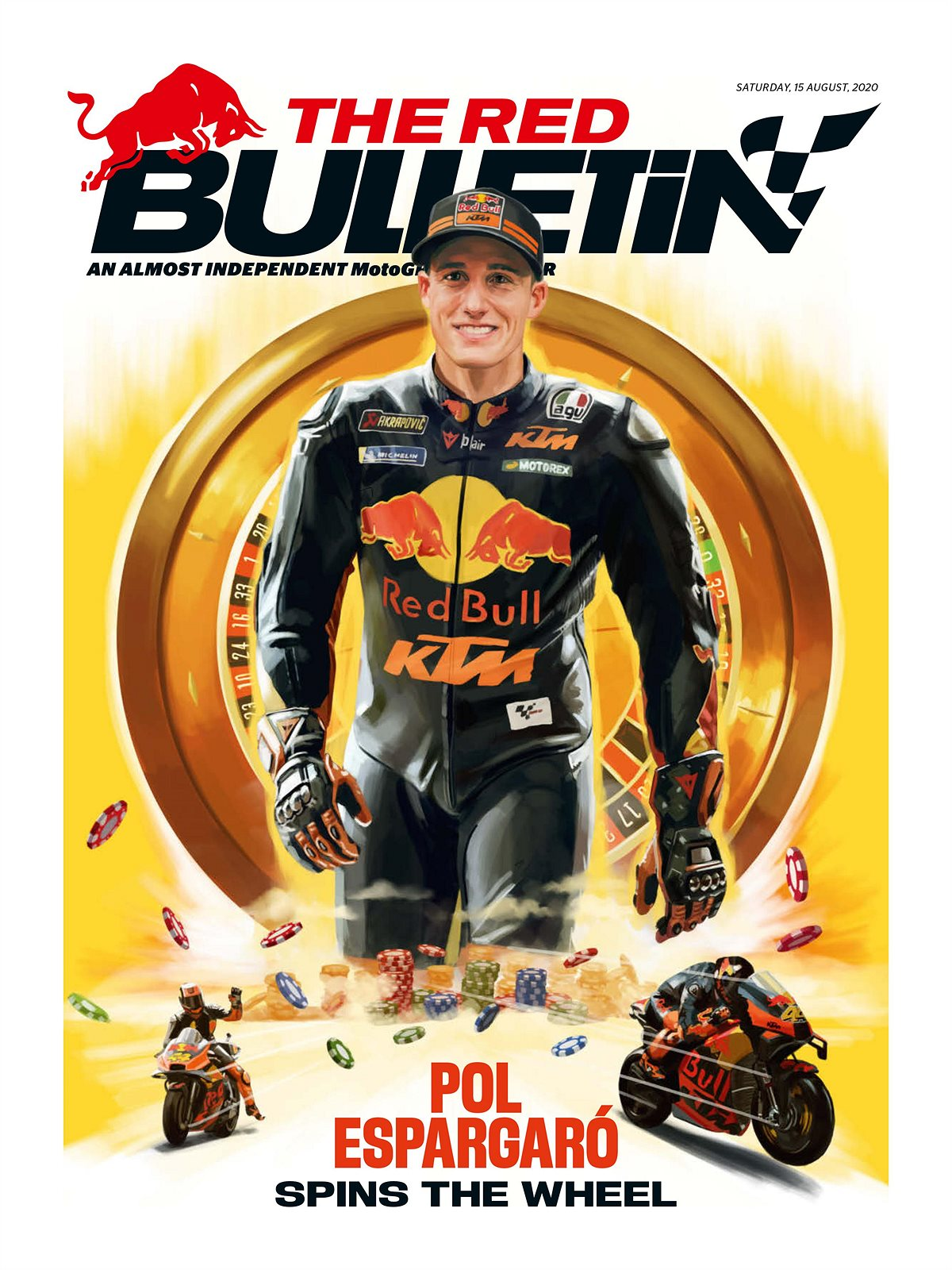 The Red Bulletin Cover MotoGP